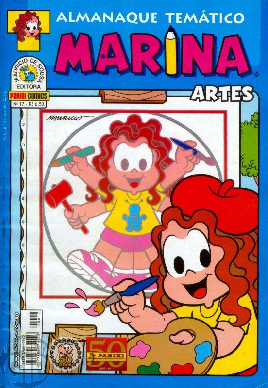 Almanaque Temático [Panini] nº 017 fev/2011 - Marina Artes