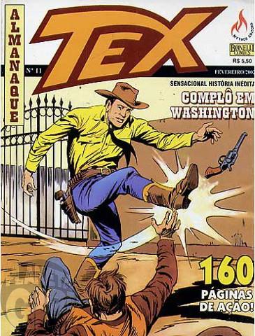 Almanaque Tex nº 011 - Complô em Washington