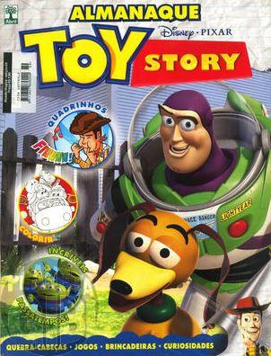 Almanaque Toy Story nº 001 jul/2010 - Quadrinhos e Passatempos
