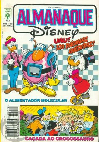 Almanaque Disney nº 272 mar/1994 - O Alimentador Molecular