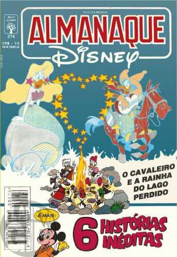 Almanaque Disney nº 274 mai/1994 - Vale Tudo por Grana