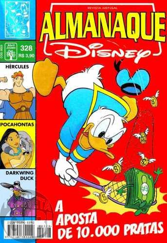 Almanaque Disney nº 328 nov/1998 - A Onda de Calor