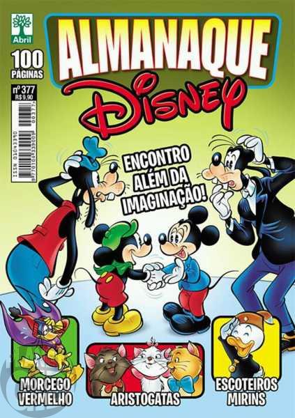 Almanaque Disney nº 377 out/2017