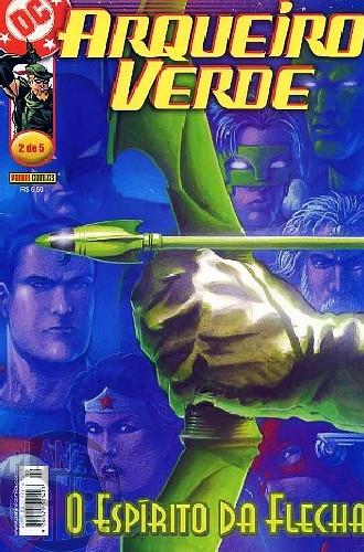 Arqueiro Verde [Panini - 1ª série] nº 002 dez/2002