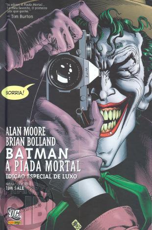 Batman: A Piada Mortal - Capa Dura - 2009 (OSDCP)