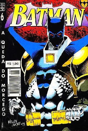 Batman [Abril - 4ª série] nº 006 ago/1995 - A Queda do Morcego