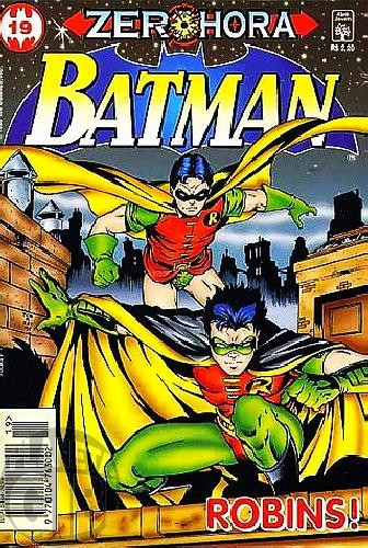 Batman [Abril - 4ª série] nº 019 set/1996 - Zero Hora - Última Edição Desta Série
