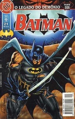 Batman [Abril - 5ª série] nº 021 jul/1998