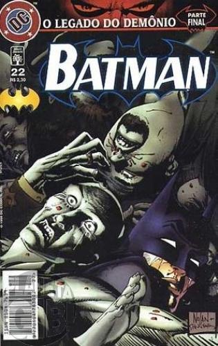 Batman [Abril - 5ª série] nº 022 ago/1998