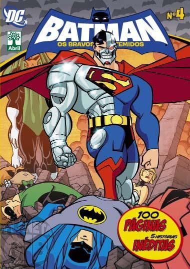 Batman Os Bravos e Destemidos [Abril - DC Animated] nº 004 ago/2013