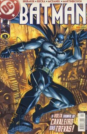 Batman [Panini - 1ª série] nº 001 nov/2002