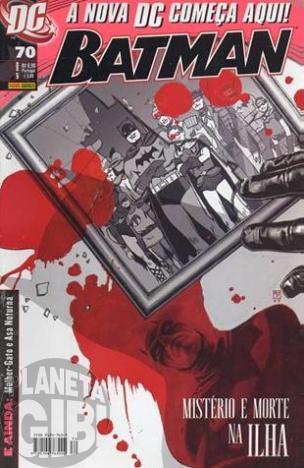 Batman [Panini - 1ª série] nº 070 set/2008