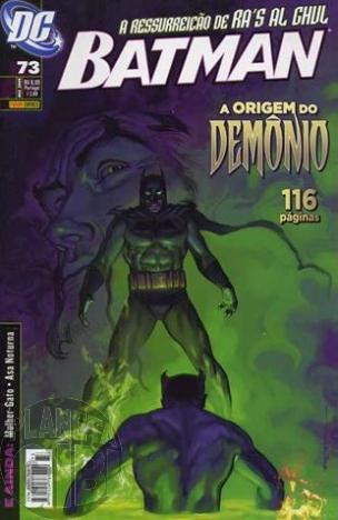 Batman [Panini - 1ª série] nº 073 dez/2008
