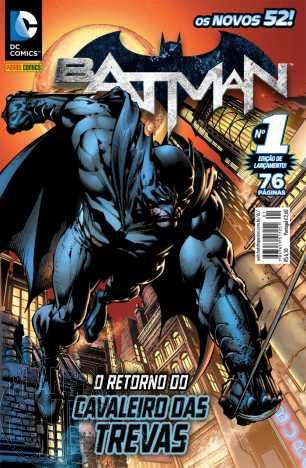 Batman [Panini - 2ª série] nº 001 jun/2012
