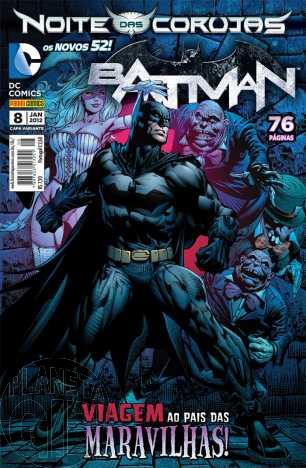 Batman [Panini - 2ª série] nº 008 jan/2013 - Capa Variante B