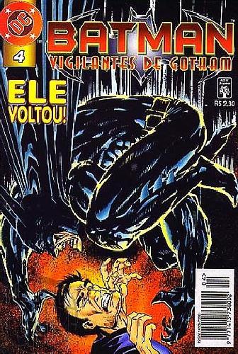 Batman Vigilantes de Gotham [Abril] nº 004 fev/1997