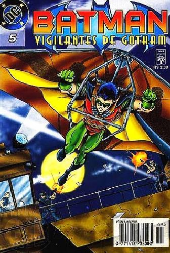 Batman Vigilantes de Gotham [Abril] nº 005 mar/1997