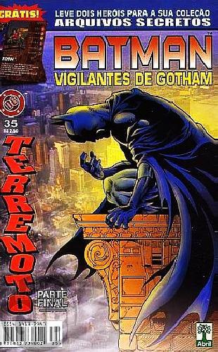 Batman Vigilantes de Gotham [Abril] nº 035 set/1999