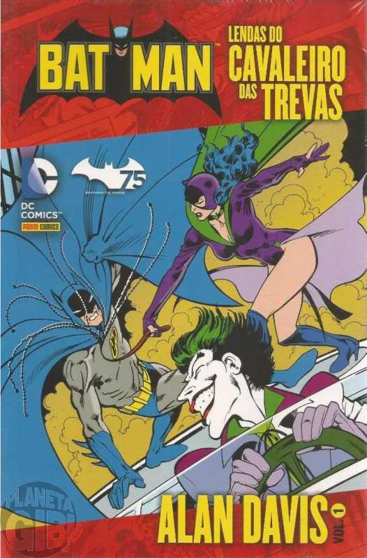 Batman Lendas do Cavaleiro das Trevas - Alan Davis [Panini] nº 001 nov/2014