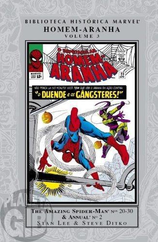 Biblioteca Histórica Marvel Homem-Aranha [Panini] nº 003 set/2009 - Capa Dura - Lacrado