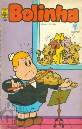 Bolinha [Abril] nº 032 mar/1979 - Vide detalhes