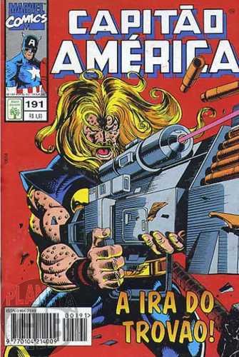 Capitão América [Abril - 1ª série] nº 191 abr/1995