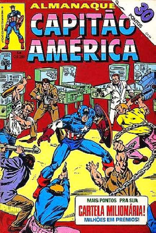 Capitão América [Abril - 1ª série] nº 054 nov/1983 - Vide Detalhes