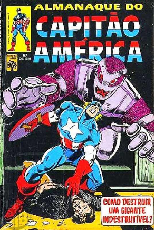 Capitão América [Abril - 1ª série] nº 067 dez/1984 - Vide Detalhes