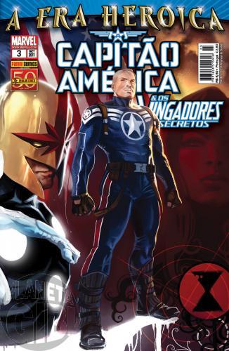 Capitão América & Os Vingadores Secretos nº 003 set/2011 - A Era Heroica