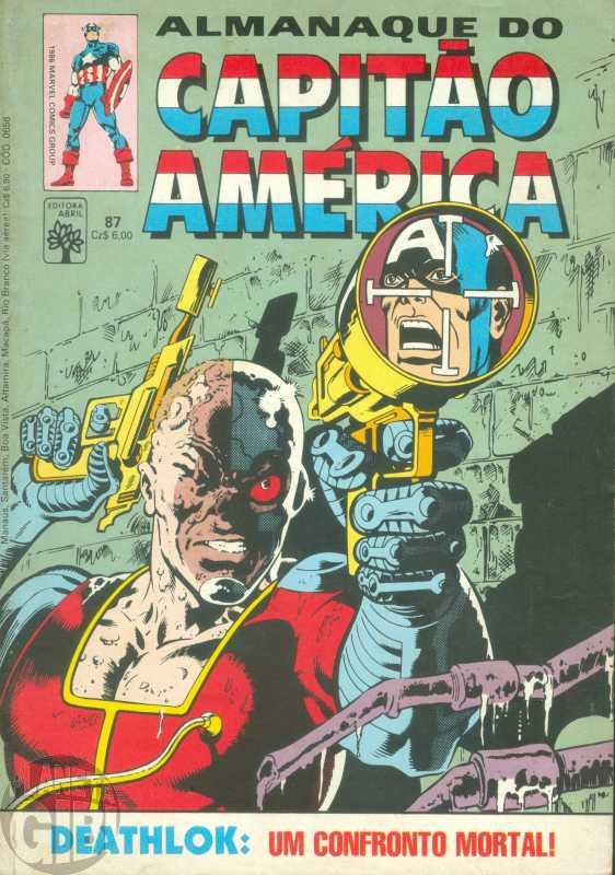 Capitão América [Abril - 1ª série] nº 087 ago/1986 - Almanaque do Capitão América