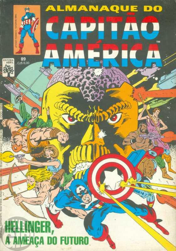 Capitão América [Abril - 1ª série] nº 089 out/1986 - Almanaque do Capitão América