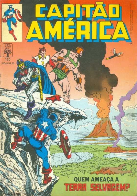 Capitão América [Abril - 1ª série] nº 130 mar/1990