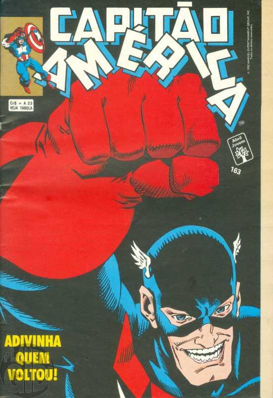 Capitão América [Abril - 1ª série] nº 163 dez/1992