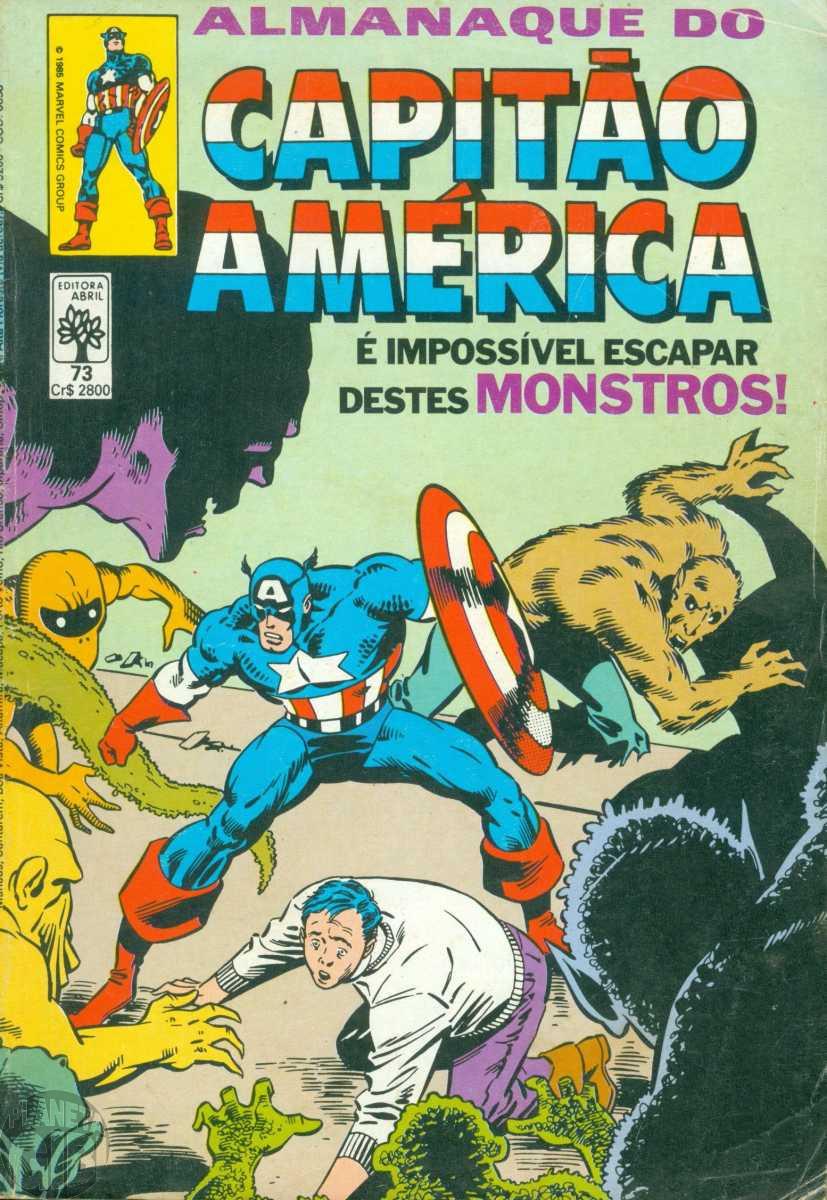 Capitão América [Abril - 1ª série] nº 073 jun/1985