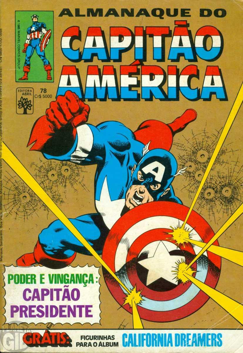 Capitão América [Abril - 1ª série] nº 078 nov/1985 - vide detalhes