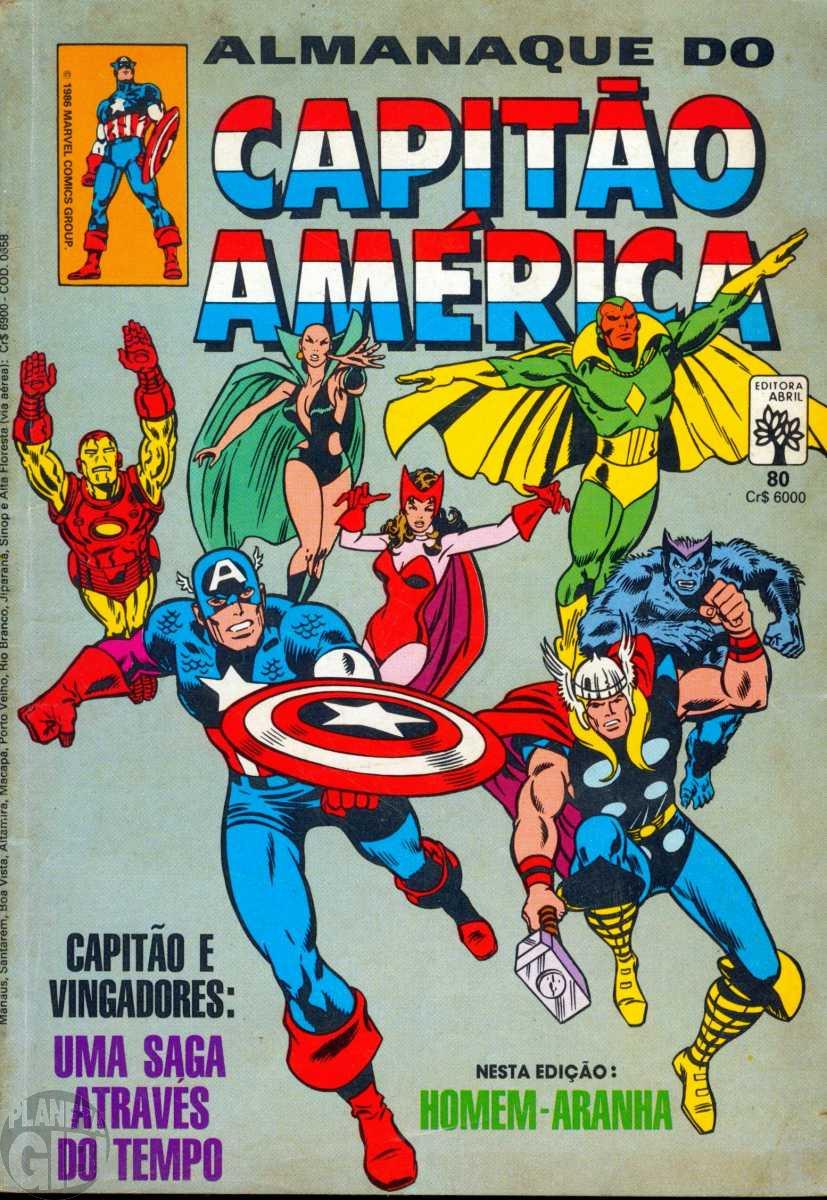 Capitão América [Abril - 1ª série] nº 080 jan/1986