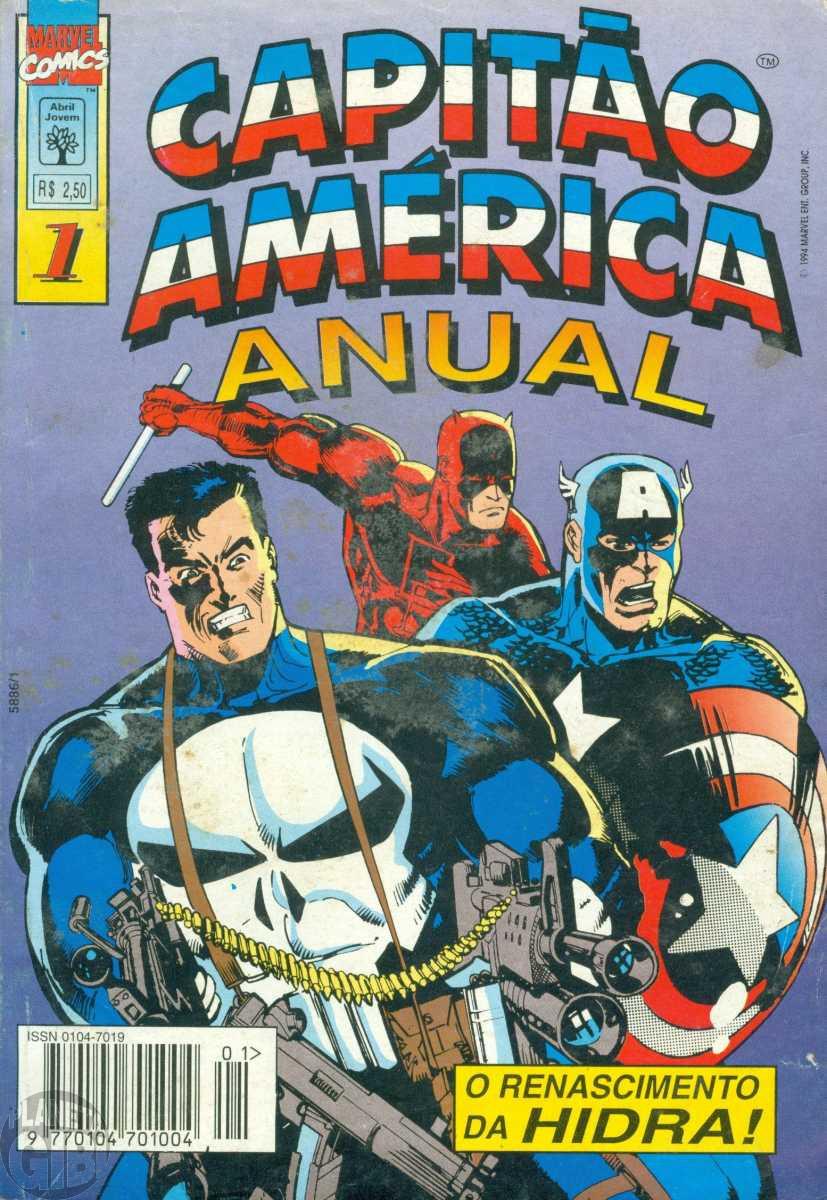 Capitão América Anual [Abril 1s] 001 dez/1994