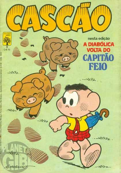 Cascão [1ª série - Abril] nº 003 set/1982