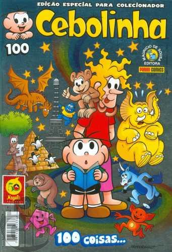 Cebolinha [3ª série - Panini] nº 100 abr/2015 - Especial para Colecionador - Capa Metalizada