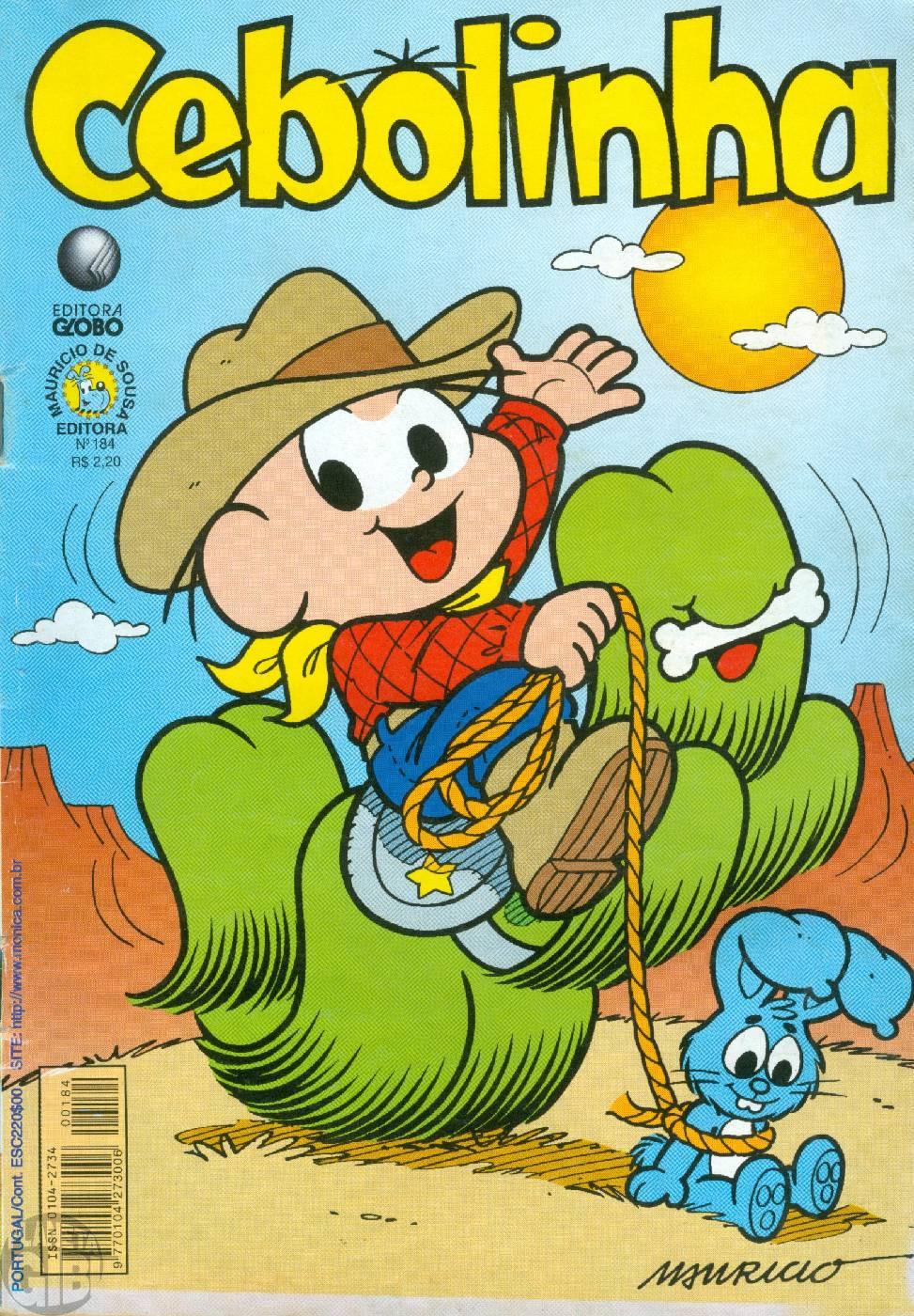 Cebolinha [2ª série - Globo] nº 184 nov/2001