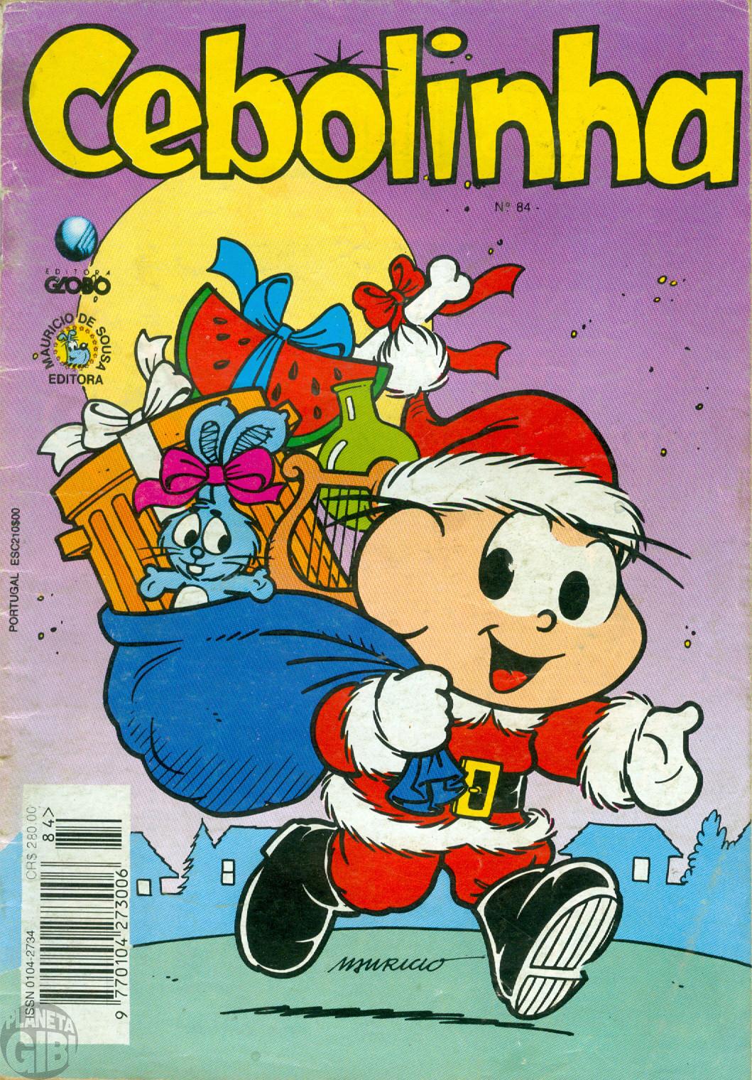 Cebolinha [2ª série - Globo] nº 084 dez/1993 - Edição de Natal