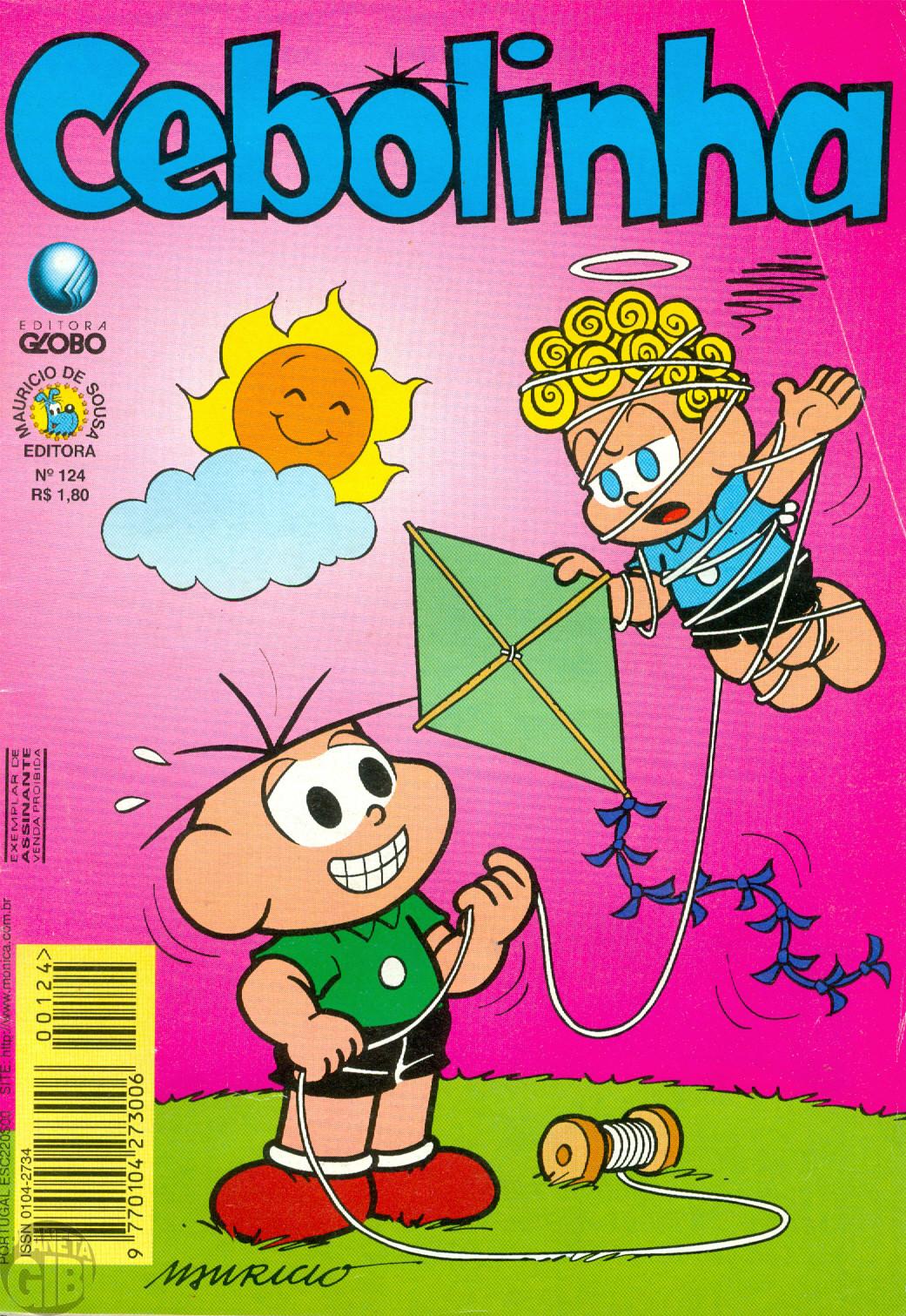 Cebolinha [2ª série - Globo] nº 124 abr/1997