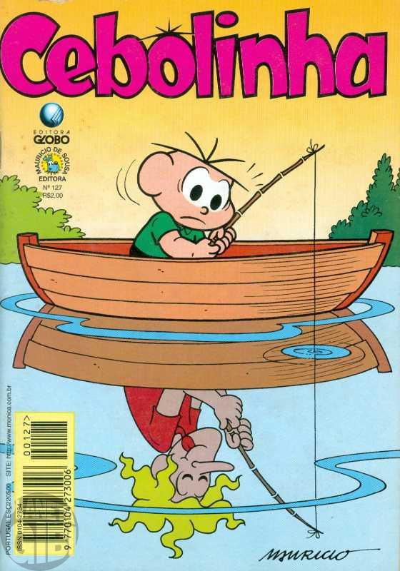Cebolinha [2ª série - Globo] nº 127 jul/1997 - Vide Detalhes