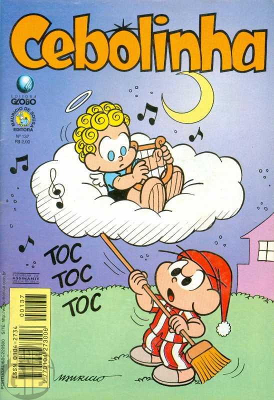 Cebolinha [2ª série - Globo] nº 137 mai/1998
