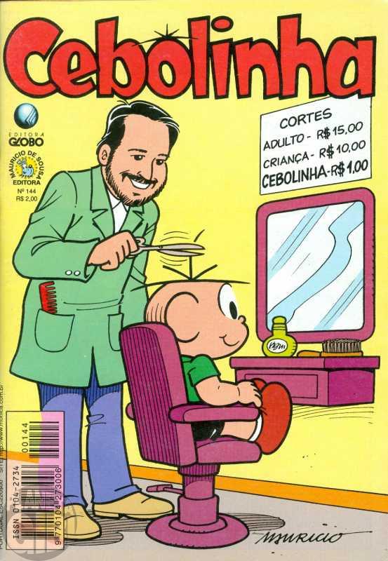 Cebolinha [2ª série - Globo] nº 144 out/1998