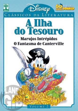 Clássicos da Literatura Disney nº 002 mai/10 - A Ilha do Tesouro