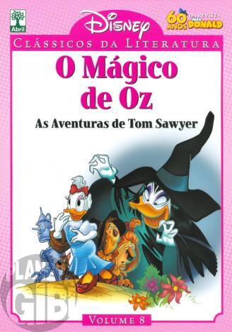 Clássicos da Literatura Disney nº 008 - jul/10 - O Mágico de Oz