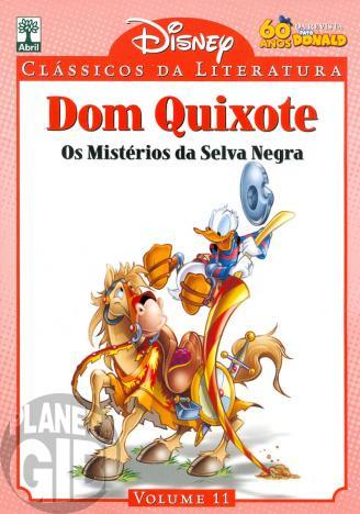 Clássicos da Literatura Disney nº 011 - ago/10 - Dom Quixote