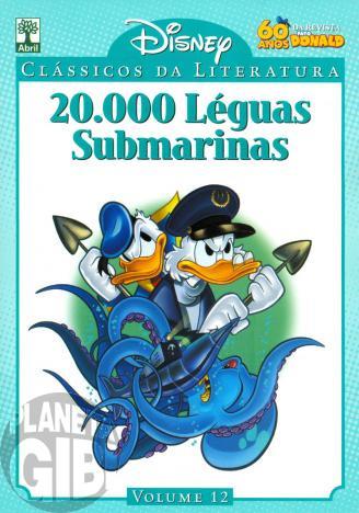Clássicos da Literatura Disney nº 012 ago/10 - 20.000 Léguas Submarinas