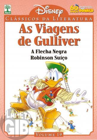 Clássicos da Literatura Disney nº 019 - set/10 - As Viagens de Gulliver